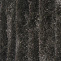 Kattenstaart 120x240cm zwart uni