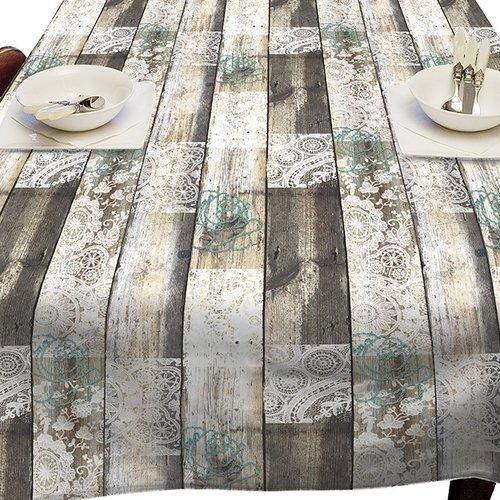 PVC Oilcloth Romantic winter