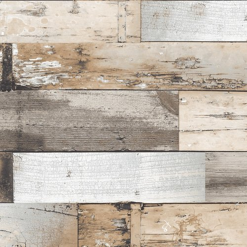 PVC Tafelzeil Woody bruin