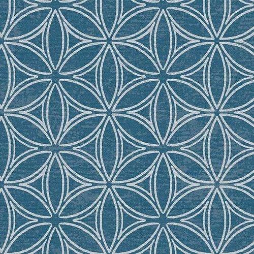 PVC table cover Orbit blue