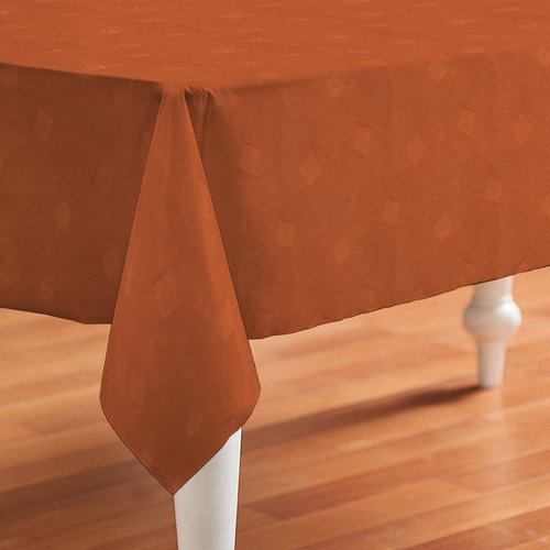 Coated Table textile Wurfel orange