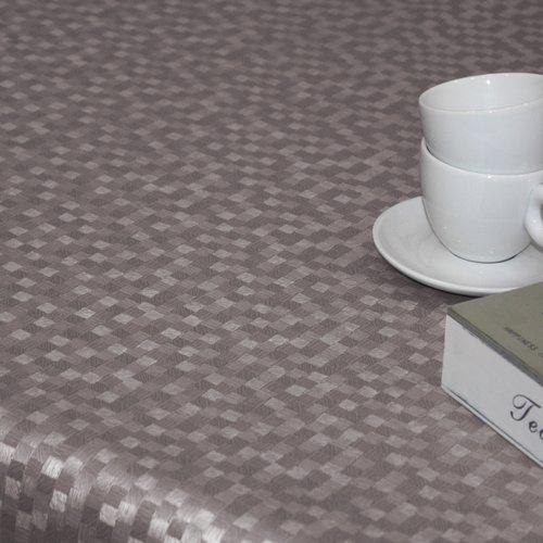 Table textiles Polyline Dijon taupe