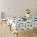 Coated Table Textile Cactus