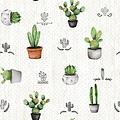 Coated Table Textile Cactus
