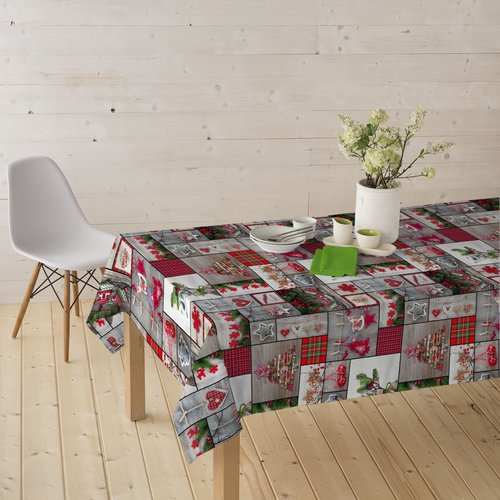 Coated Table Textiles Merry Christmas
