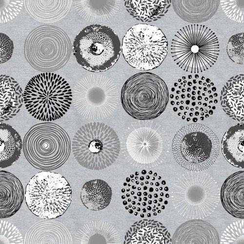 Beschichtete Tischtextil Onoric grau