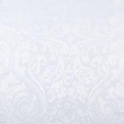 Tafelkleed Napoli wit rond 160cm