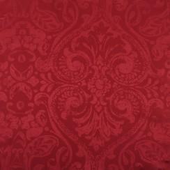Tafelkleed Napoli rood rond 160cm