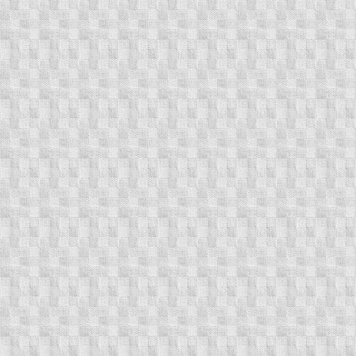 Beschichtete Tischtextilien Würfel weiß