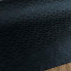 Gecoat tafeltextiel Blokjes - zwart