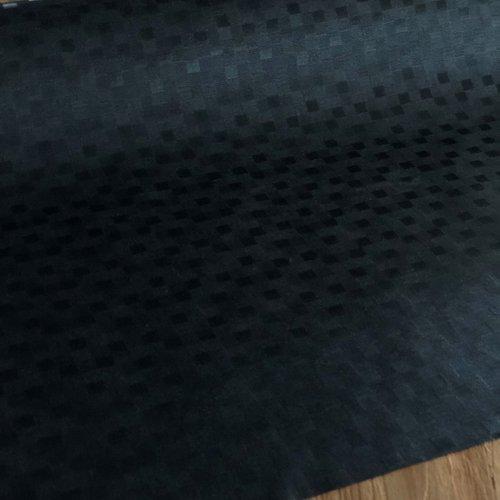 Beschichtete Tischtextilien Würfel schwarz
