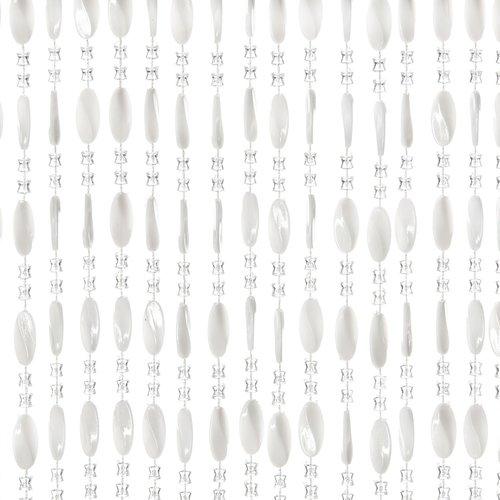 Türvorhang Charlotte 90x220 cm weiß