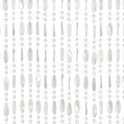 Deurgordijn Charlotte 100x240 cm wit