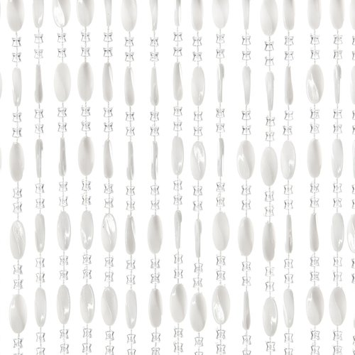 Türvorhang Charlotte 100x240 cm weiß