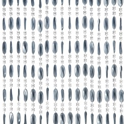 Deurgordijn Charlotte 100x240 cm grijs
