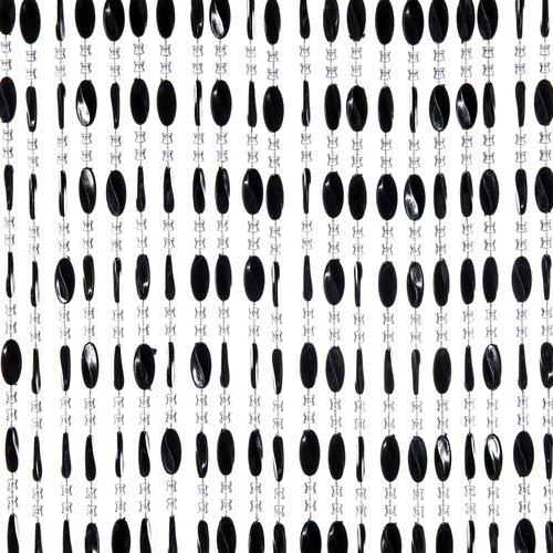 Door curtain Charlotte 100x240 cm black