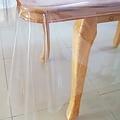 Transparent oilcloth 0.80mm. 140 cm x 15 m.