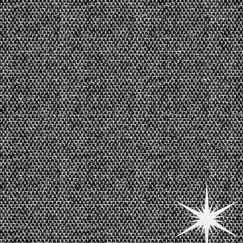 Beschichtete Tisch Textil Lurex schwarz