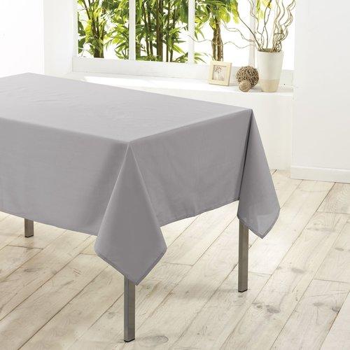 Tafellaken-Tafelkleed- textiel Essentiel grijs 140cmx200cm