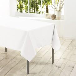 Tafelkleed textiel Essentiel wit 140cmx200cm