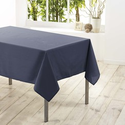 Tafelkleed textiel Essentiel beton 140cmx250cm
