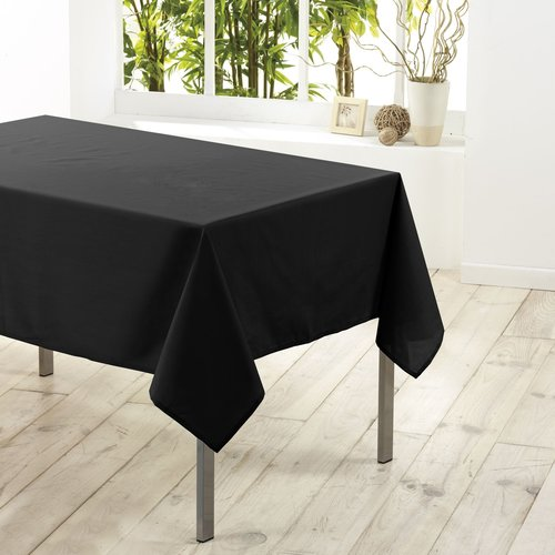 Tablecloth textile Essentiel black 140cmx250cm