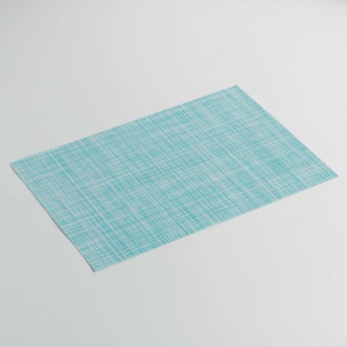 Place mats Punto sky blue packed per 12 pieces