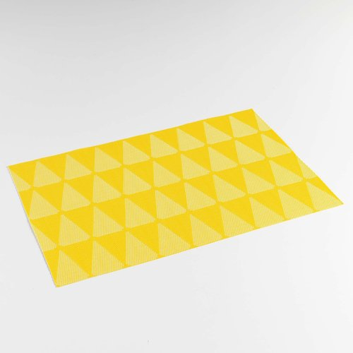 Place mats Takea yellow packed per 12 pieces