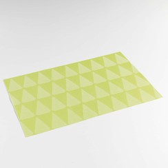Place mats Takea green packed per 12 pieces