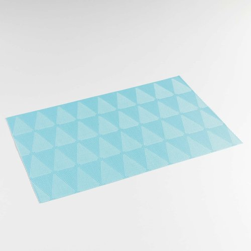 Place mats Takea blue packed per 12 pieces
