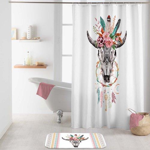 Shower curtain textile Buffle spirit