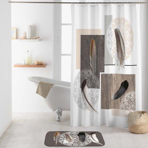 Shower curtain textile Abana