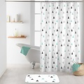 Shower curtain textile Maddy