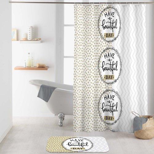Shower curtain textile Beautiful