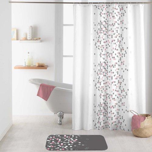 Duschvorhang Textil Brausetabletten