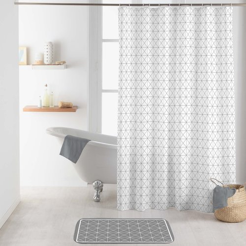 Shower curtain textile Kubia