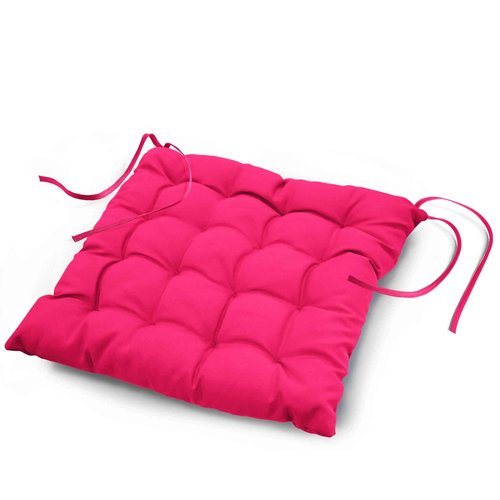Chair cushion Essential fuchsia 40cmx40cmx7cm