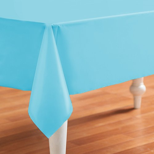 PVC oilcloth Even blue