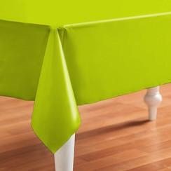 PVC Tafelzeil Even groen