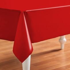 PVC Tafelzeil Even rood