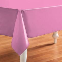 PVC Tafelzeil Effen roze
