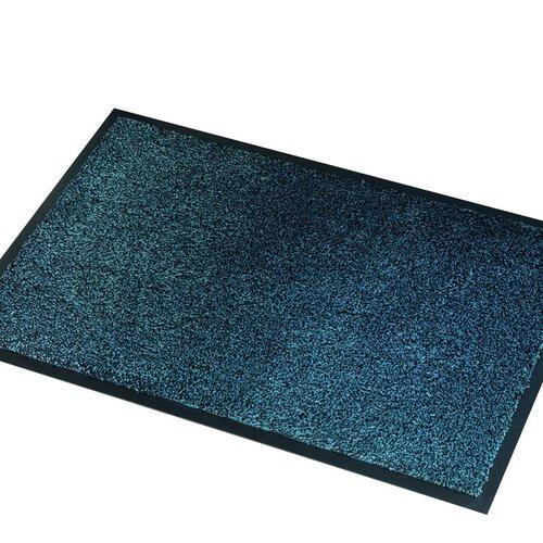 Droogloopmat Microm Absorber Zw/Grijs 40x60cm