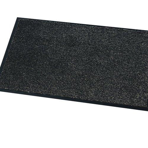 Dry walking mat Moorea Anthracite multi 40X60cm