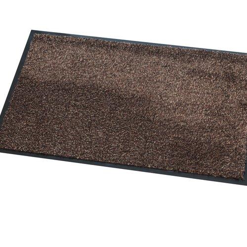 Dry running mat Moorea Brown multi 60X80cm