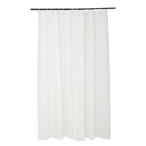 Shower curtain 100% Peva white