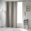 Spitze und klarer Vorhang mit Ringen, die 140 x 240 cm Uni-Polyesterperle verdecken
