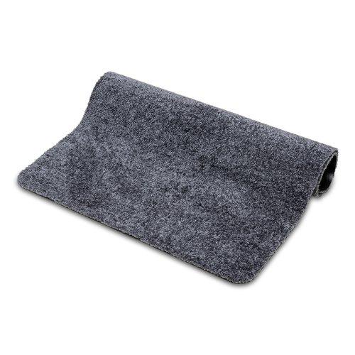 Deurmat-schoonloopmat Washclean 40x60cm grijs
