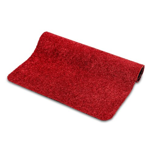 Wash & Clean 40x60cm cleaning mat red