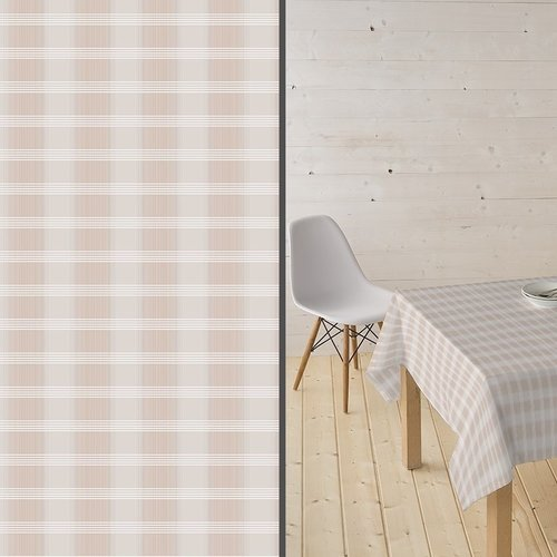 Coated Table textile Tobermay beige