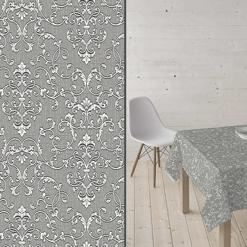 Coated Table Textile Bells gray
